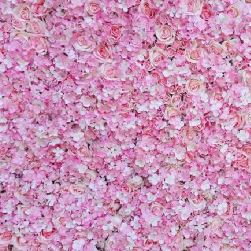 Le Decor Pink Flower Wall