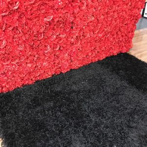 Le Decor Black Rug
