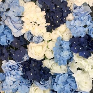 Le Decor Blue White Flower Wall