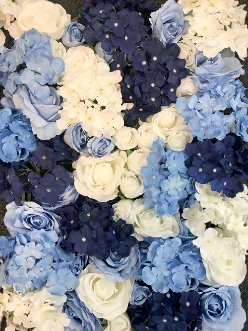BLUE-WHITE WALL - Le Décor Australia - Sydney Flower Walls